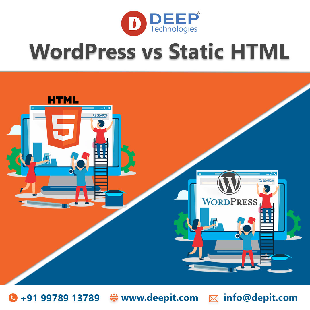 Business Website – WordPress vs Static HTML Which one is Best?