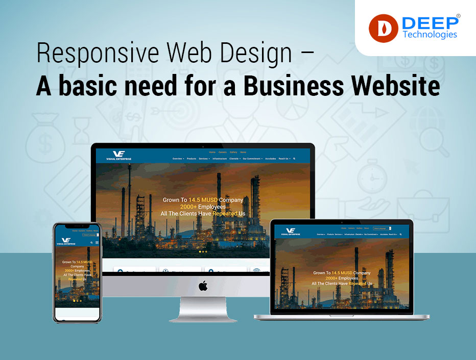 Responsive web design – A basic need for a business website