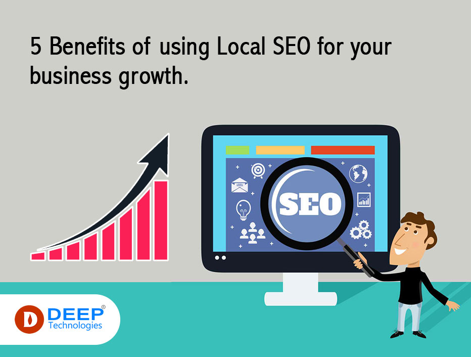 5 Benefits of using Local SEO for your business growth