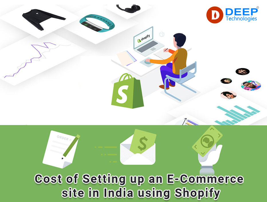 Cost of Setting up an E-Commerce site in India using Shopify.